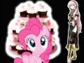Luka Megurine singing Cupcakes by Pinkie Pie