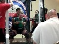 Weightlifter Squats Half A Ton And Spews