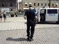 Swedish policeman dancing