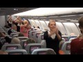 Surprise Dance on Finnair Flight