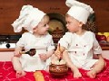 Cute Baby Chef