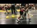 4 Year Old Nyree Dabney First Year Wrestling- Toddler