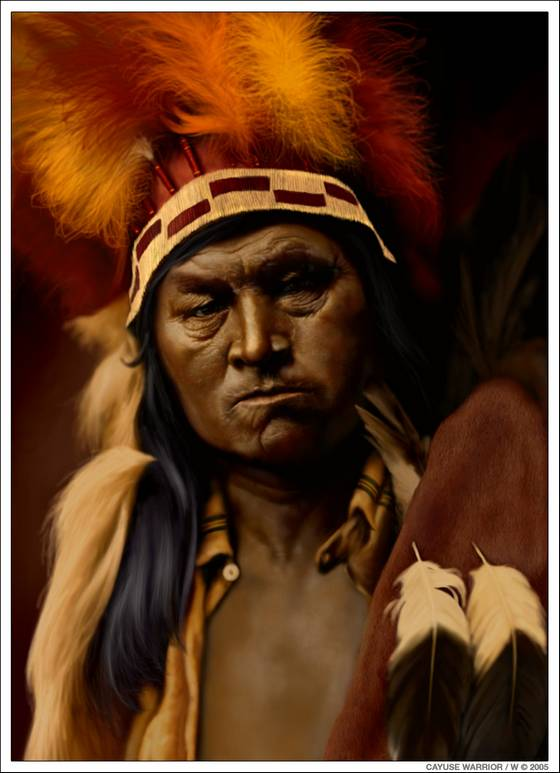 Colorized Old Photos of Native Americans