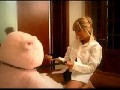 Blonde Bangs a Teddy Bear