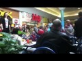 Christmas Food Court Flash Mob