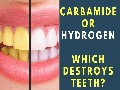 Carbamide Peroxide vs Hydrogen Peroxide Whitening