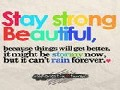 stay strong and beautiful