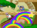 Rainbow Rabbit Adventure Invincible