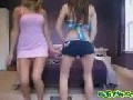 Young Girls Dancing