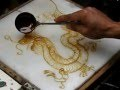 Sugar Painting - Chinese Dragon