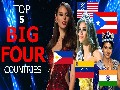 TOP 5 COUNTRIES in BIG FOUR beauty pageants 2019