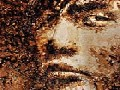 Portrait of Jay Chou Painted with Coffee Stains