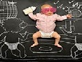Creative Mother Illustrates Babies' Dreams On Blackboard
