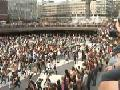 Michael Jackson Flashmob Tribute in Stockholm